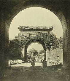 Suwon: Chang-An Gate. 수원 화성, 장안문외 옹성