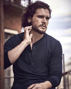 "4,393 Likes, 37 Comments - Kit Harington (@kitharingtonrelated) on Instagram: ""Kit Harington looking very fine in these newly released photos!!  •  by Matthew Brookes • Part…"""