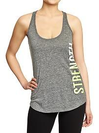 Women's Old Navy Active GoDRY Graphic Tanks