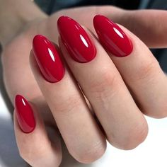 26 Popular Nails Winter Colors to Look Trendy This Season * remajacantik Elegant Nails, Stylish Nails, Trendy Nails, Cute Nails, Red Acrylic Nails, Acrylic Nail Designs, Pink Nails, Red Gel Nails, Red Nail Designs
