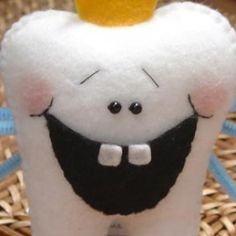 make out of felt and add a pocket for a Tooth Fairy Pillow! Great Idea...