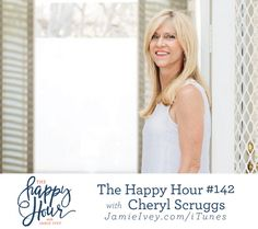 The Happy Hour #142 with Jamie Ivey & Cheryl Scruggs: After her own extramarital affair, Cheryl filed for divorce from her husband. She shares about the Lord saving her in the years of their divorce, and calling her to restore her marriage. After 7 years of divorce and a beautiful story of reconciliation, Cheryl and Jeff got remarried. They are now passionate about marriage ministry and helping couples to find hope in their marriages.