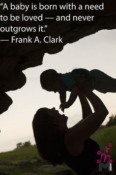 Mother and Baby Son Profile, Quote Baby, Children and Family Photography Wichita, Kansas