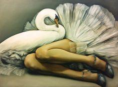 Leda and the swan, | Flickr - Photo Sharing!