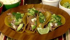 Didn't make these tacos, but the porky butt was delicious.  Used it for quesadillas, bbq sandwiches, my own version of tacos, enchiladas, etc.  Good flavor and good to have in the freezer for last minute meals.