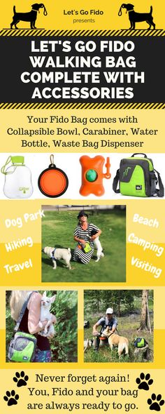 Handy, Stay Organized, Your pup has their own bag now! Limited Supply. #dogwalkingbag #dogs #ilovedogs #dogaccessories #petsupplies #doglovers #gifts #newpuppy #newdog