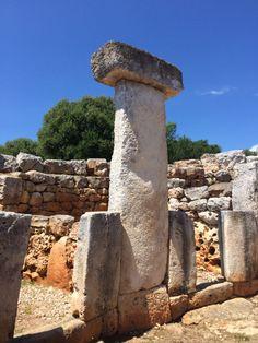 La mesa de los gigantes. Menorca y sus curiosidades nos acercan a la cultura talayoitica
