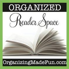 Organized Reader Space | OrganizingMadeFun.com