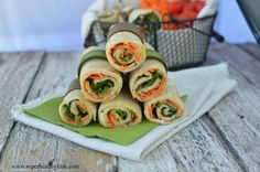 Veggie Lunch Wraps   Healthy Ideas for Kids