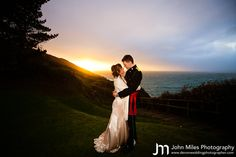 James and Steph's Polhawn Fort Wedding in January!  By Wedding Photographer Devon - John Miles