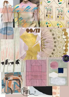 TRENDS // MIRELLA BRUNO - PRINT/GRAPHIC/COLOR INSPIRATIONS . SS 2017 | FASHION VIGNETTE | Bloglovin'