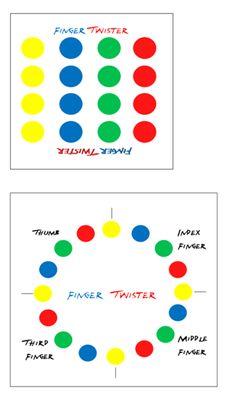 Finger Twister: Fine motor development game