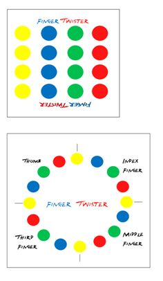 Finger Twister: Fine motor development game