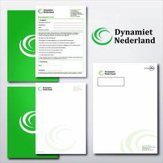 Grafische vormgeving en drukwerk van briefpapier, machtigingsformulieren en enveloppen. Dynamiet Nederland heel veel plezier met de nieuwe producten!  #drukwerk #netwerk #design #bkr