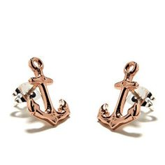Picture of Anchor Studs / Rose Gold / bingbangNYC