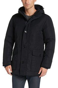 Down jacket: 'Davmen'