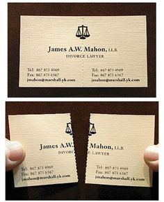 bussiness card cool