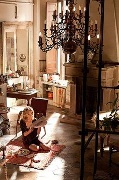 Maybe if I watch this movie enough, it will actually come true.  Eat Pray Love Italian Apt