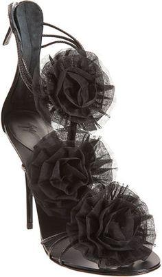 ShopStyle: Giuseppe Zanotti Flower Sandal