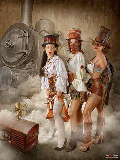 Steampunk Bandit Queen III by von-sel.deviantart.com on @deviantART
