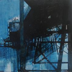 ARTFINDER: Under the Pier, Eastbourne. 1 Jan 2014 by Julian Sutherland-Beatson - Part of my new 'At Home and Abroad' daily painting project comprising acrylic paintings of the countryside, coastline and urban areas of the UK and abroad. T...
