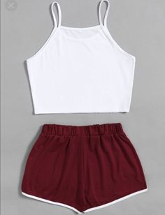 Cute Outfits With Leggings, Cute Lazy Outfits, Summer Outfits For Teens, Crop Top Outfits, Stylish Outfits, Outfits Teenager Mädchen, Teenage Girl Outfits, Girls Fashion Clothes, Teen Fashion Outfits