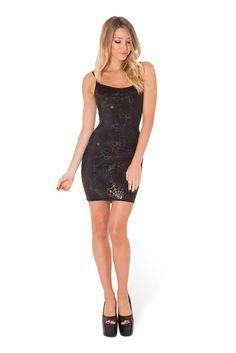 Wicked Web Black Straps Dress › XS.