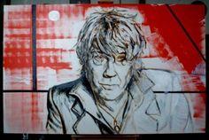 Portrait of the Belgian singer Arno Hintjes (T.Matic) paint by Geert Coucke - Style:Art Now/Recent 2012 Arno, Art Friend, Culture, Belgium, Oil On Canvas, Cool Pictures, Olie, Pop Art, Portraits