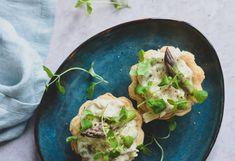 Tarteletter med høns i asparges - Opskrift på en ægte klassiker Guacamole, Food And Drink, Mexican, Ethnic Recipes, Mexicans