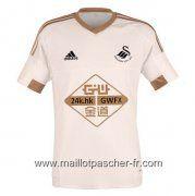 Nouveaux maillot de foot Swansea City domicile 2015-2016 thaïlande €23.50