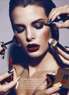 Magazine: Harper's Bazaar España January 2012  Photographer: Nicholas Duers  #editorial