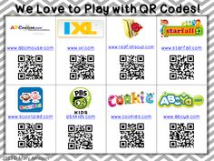 We Love to Play with QR Codes!