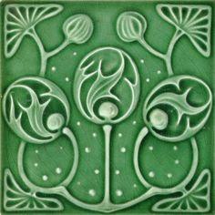 Marsden c1906/1907 - RS0225 - Art Nouveau Tiles