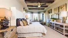 Riviera Master Bedroom | New Homes by Taylor Morrison