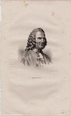 SPAZIO DELLA MUSICA 1 :VECCHIO SCARPONE: J.PHILIPPE RAMEAU : 250° anniversario scomparsa  (...