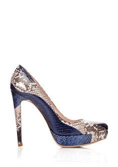 WOW... That's an awesome shoe! MIU MIU Platform Pump