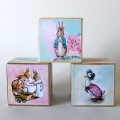 Beatrix Potter Easter Blocks