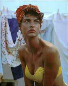 """Linda Evangelista for Vogue Italia editorial """"Cuba"""".Linda Evangelista for Vogue Italia editorial """"Cuba"""" photographed by Steven Meisel Hair by Makeup by François Nars Steven Meisel, Linda Evangelista, Vogue Vintage, Vintage Models, Fashion Vintage, Portrait Photography, Fashion Photography, Editorial Photography, Glamour Photography"""