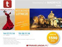 Last minute na weekend do Madrytu z Traveliada.pl