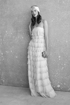 Pointillist Gown from BHLDN - an option. not my fav from looking at it might feel differently if i tried it on.