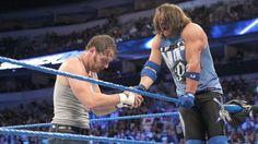 Dean Ambrose vs. Baron Corbin: fotos