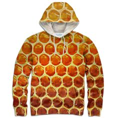 Honeycomb Hoodie – Shelfies - Outrageous Clothing