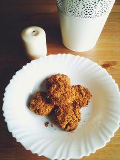 biscoitos de manteiga de amendoim e aveia