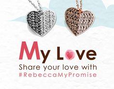 Rebecca Gioielli #RebeccaMyPromise // San Valentino #rebeccagioielli #rebeccajewels