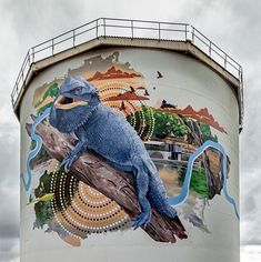 We have recorded 17 painted water towers in New South Wales, including three new ones completed in 2019. Locations include Bardia, Boddington Hill, Coal Point, Collingullie, Coonamble, Deniliquin, Gulargambone, Gunnedah, Hornsby, Katoomba, Lapstone, Lockhart, narrandera, Mt Riverview, Willans Hill, Wilton & Woolgoolga.