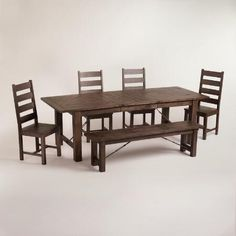 Puluxy Dining Room Table And Chairs Set Of 7 In 2019