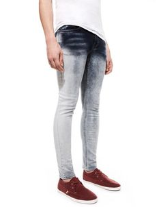 Bershka Saudi Arabia - Dégradé coloured skinny fit jeans 259
