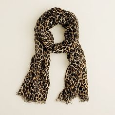 Women's accessories - scarves, gloves, & hats - Printed scarf - J.Crew - StyleSays