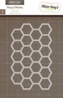 Heyday Hexagons Spray Mask By Studio Calico            Part of the Heyday collection.