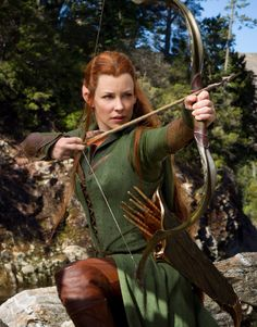 Evangeline Lily (Tauriel) in The Hobbit